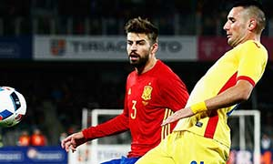 Romania 0-0 Spain