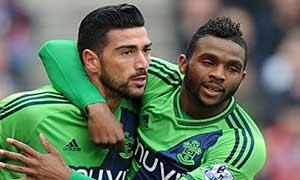 Stoke City 1-2 Southampton