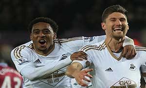 Swansea City 1-0 Aston Villa