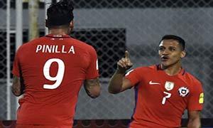 Venezuela 1-4 Chile