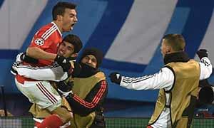 Zenit 1-2 Benfica