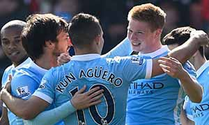 AFC Bournemouth 0-4 Manchester City