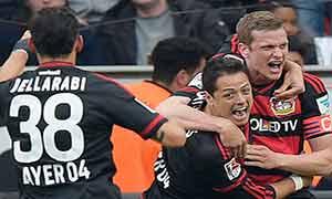 Bayer Leverkusen 2-1 Hertha Berlin