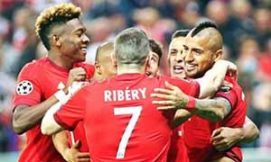 Bayern Munich 1-0 Benfica