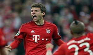 Bayern Munich 2-0 Werder Bremen