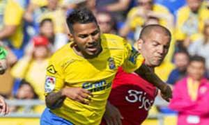 Las Palmas 1-1 Sporting Gijon