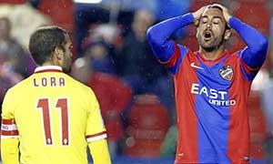 Levante 0-0 Sporting Gijon