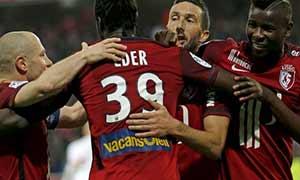 Lille 4-1 AS Monaco