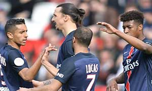 Paris Saint-Germain 6-0 Caen
