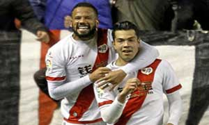 Rayo Vallecano 2-0 Getafe