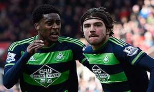 Stoke City 2-2 Swansea City