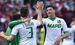 Torino 1-3 Sassuolo