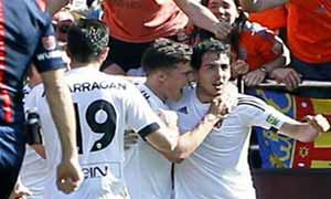 Valencia 2-1 Sevilla