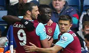 West Bromwich Albion 0-3 West Ham United