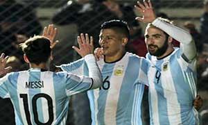 Argentina 1-0 Honduras