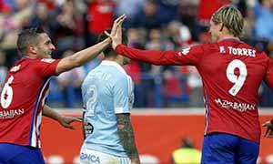 Atletico Madrid 2-0 Celta Vigo