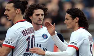 Gazelec Ajaccio 0-4 Paris Saint-Germain