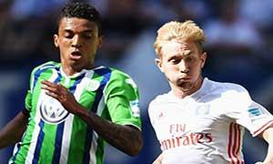 Hamburger SV 0-1 Wolfsburg