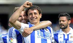 Real Sociedad 2-1 Rayo Vallecano