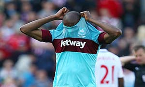 Stoke City 2-1 West Ham United