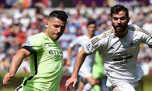 Swansea City 1-1 Manchester City