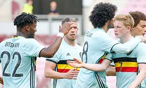 Switzerland 1-2 Belgium