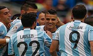 Argentina 3-0 Bolivia