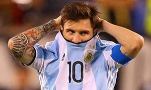Argentina 0-0 (Pen 2-4) Chile