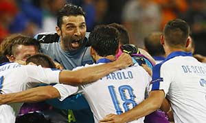 Belgium 0-2 Italy