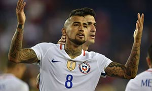 Chile 2-1 Bolivia