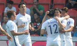 Czech Republic 1-2 South Korea