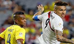 Ecuador 2-2 Peru