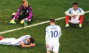 England 1-2 Iceland