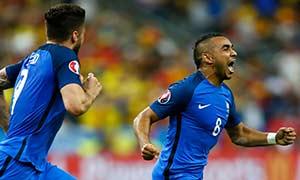 France 2-1 Romania
