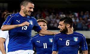 Italy 2-0 Finland