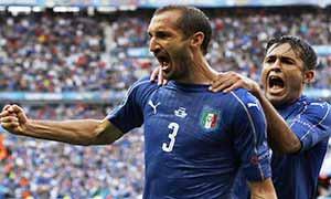 Italy 2-0 Spain