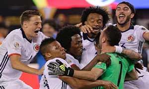 Peru 0-0 (Pen 2-4) Colombia