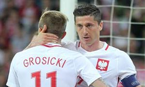 Poland 1-0 Northern Ireland