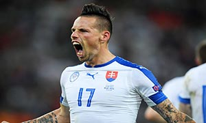 Russia 1-2 Slovakia