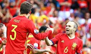 Spain 1-0 Czech Republic