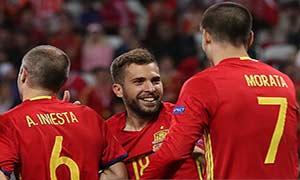 Spain 3-0 Turkey