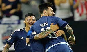 United States 0-4 Argentina