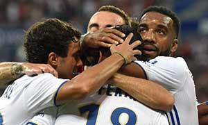 Lyon 3-2 Benfica