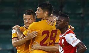 Santa Fe 1-2 Sevilla
