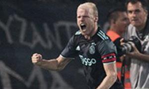 PAOK Thessaloniki 1-2 Ajax