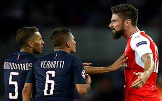 Paris Saint-Germain vs Arsenal