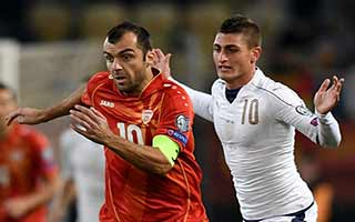 FYR Macedonia vs Italy