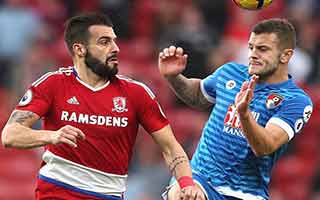 Middlesbrough vs AFC Bournemouth