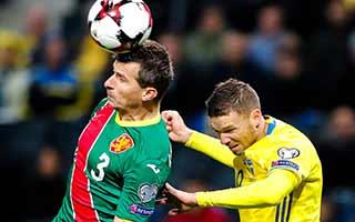 Sweden vs Bulgaria