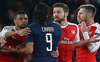 Arsenal vs Paris Saint-Germain